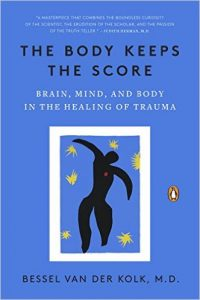 The Body Keeps Score book cover